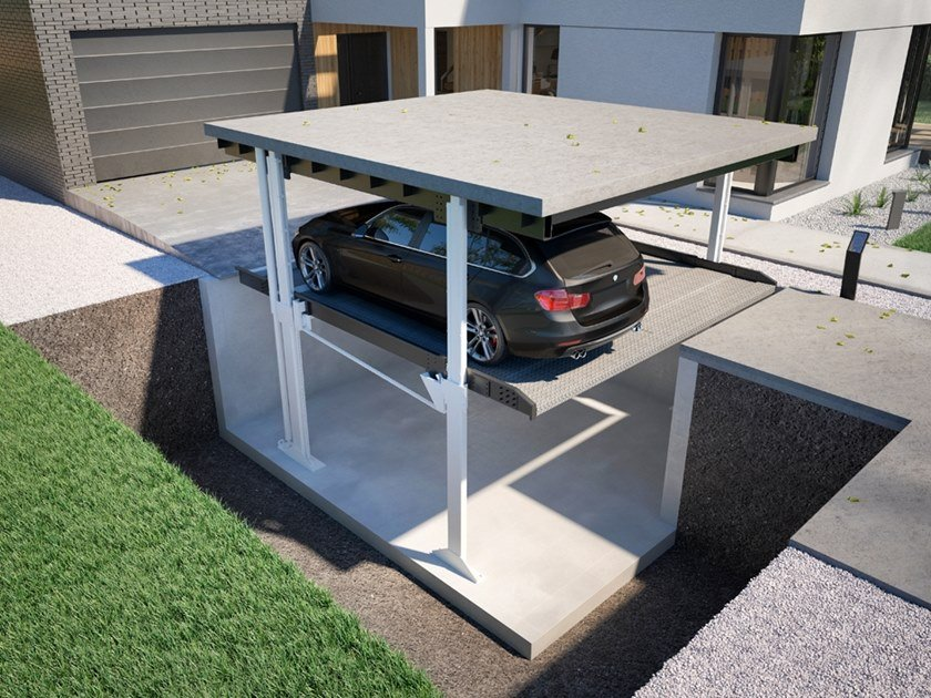 Automatic parking systems TWIN by Modulo Parking