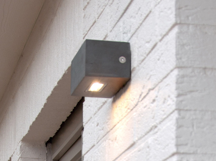 Direct light Corian® wall lamp TWIN UP OR DOWN by ROYAL BOTANIA
