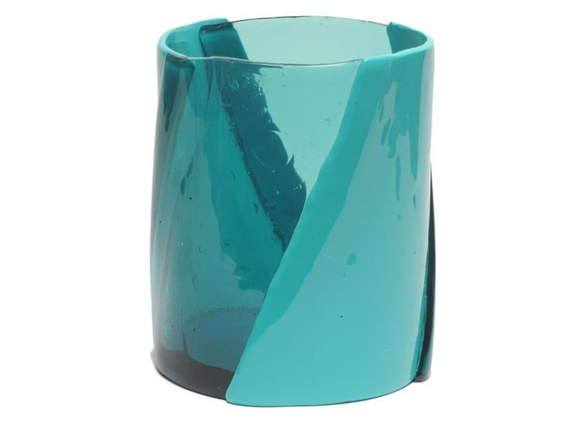 Vaso in resina TWIRL M by Corsi Design