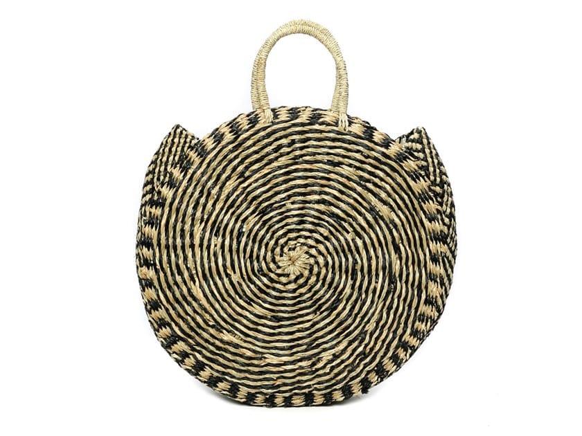 Seagrass bag TWISTED ROUNDI by Bazar Bizar