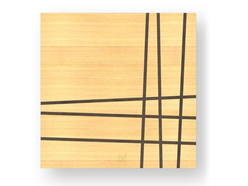 Quadro in legno intarsiato TWO WARM by LIGNIS®