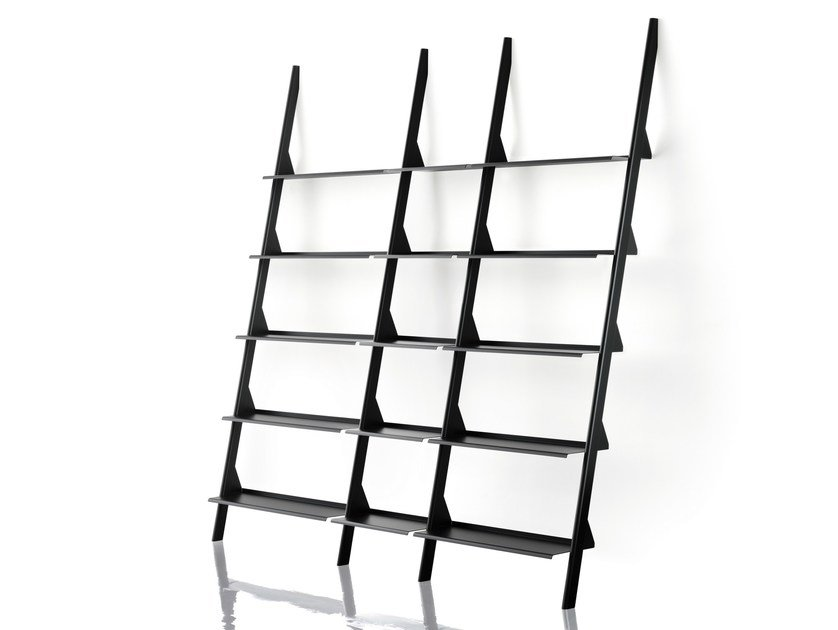 steel coated b magis the en modular powder bookcase wild open products tyke by bunch