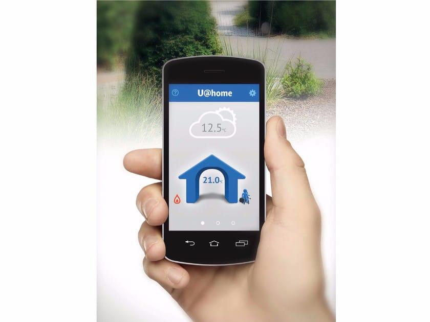 Heat regulation and hygrometric control SMATRIX U@HOME by UPONOR