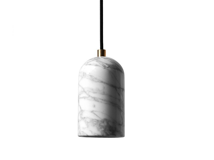 Marble pendant lamp U | Marble pendant lamp by BUZAO
