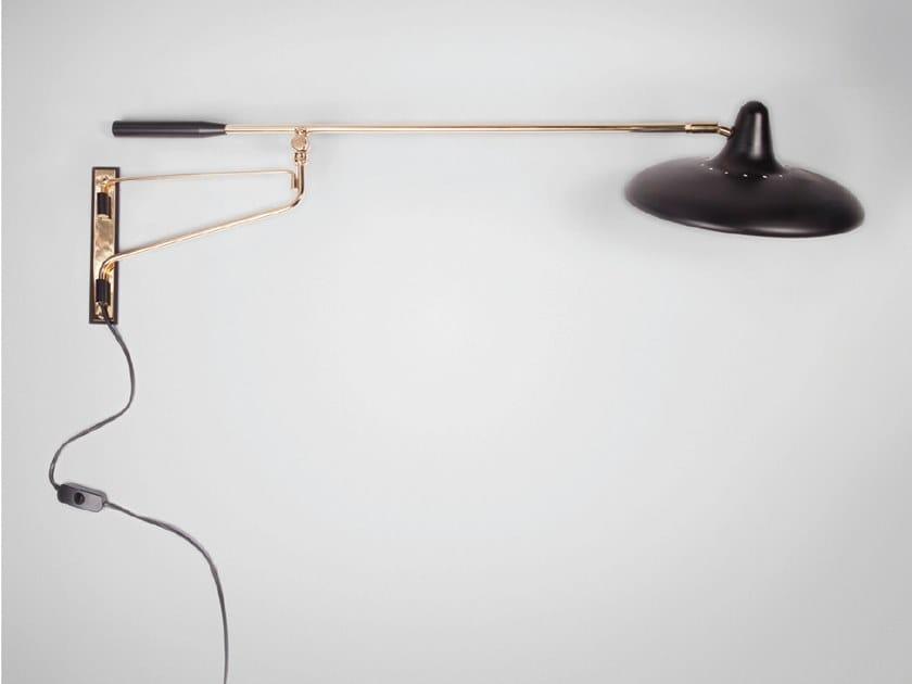 Adjustable metal plug lamp UFO - S3030 | Plug lamp by Stilnovo