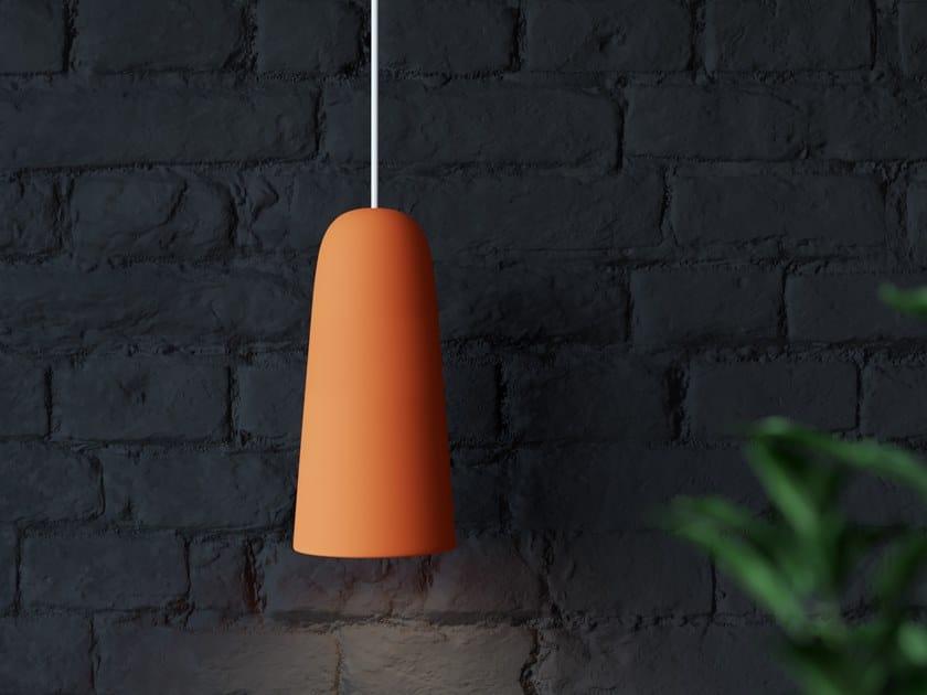 Direct light faïence pendant lamp UKU 2 by Goloob