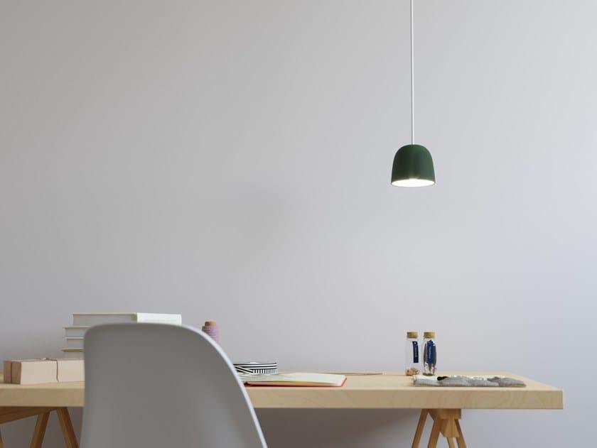 Direct light faïence pendant lamp UKU 3 by Goloob