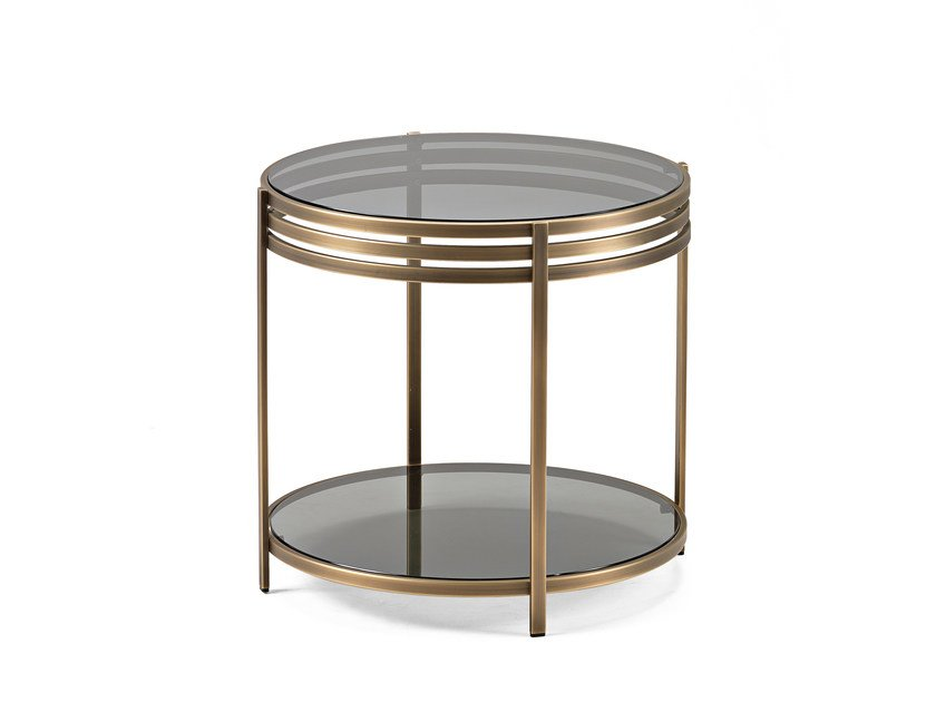 Brass Side Table ULA | Brass Coffee Table By Arketipo