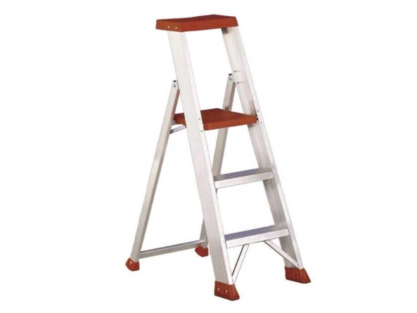 Folding aluminium step stools ULISSE SUPER by SVELT