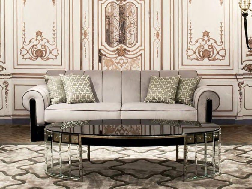 Upholstered 3 seater velvet sofa ULRICH   Sofa by Formitalia