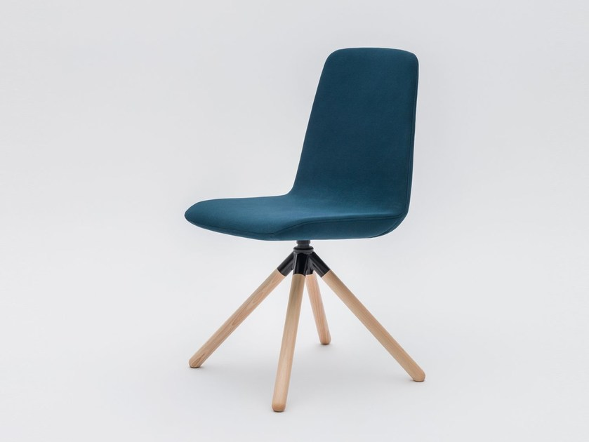 Trestle-based fabric chair ULTI P8 by MDD