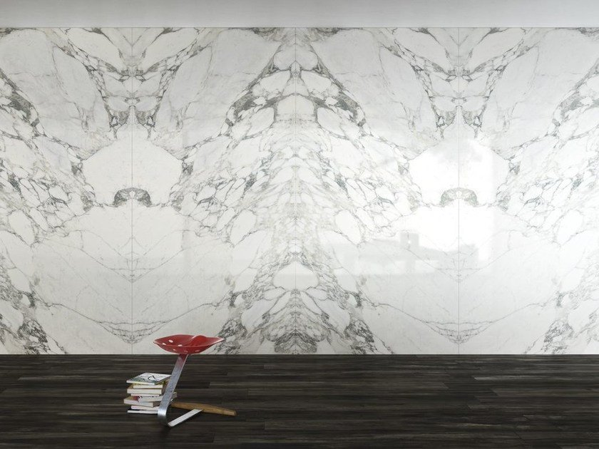 Wall/floor tiles with marble effect ULTRA MARMI - ARABESCATO STATUARIO by ARIOSTEA
