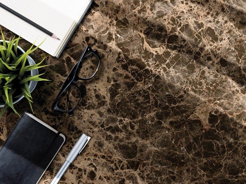 Pavimento/rivestimento in gres porcellanato effetto marmo ULTRA MARMI - DARK EMPERADOR by ARIOSTEA