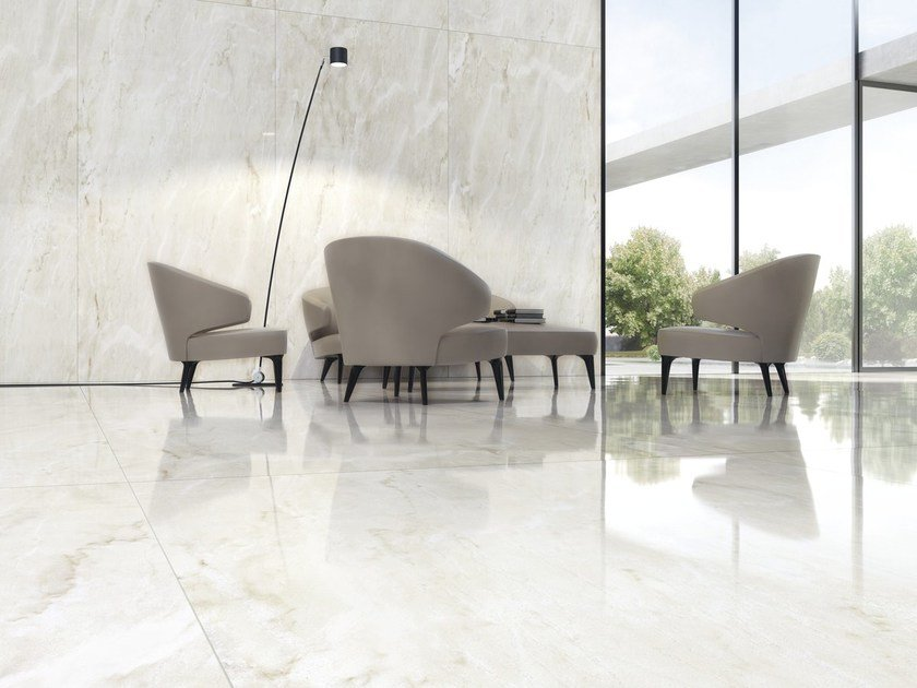 Wall/floor tiles with marble effect ULTRA MARMI - ESTREMOZ by ARIOSTEA