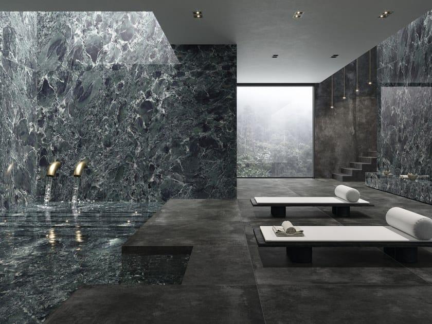 Pavimento/rivestimento in gres porcellanato effetto marmo ULTRA MARMI -  VERDE ST. DENIS by ARIOSTEA
