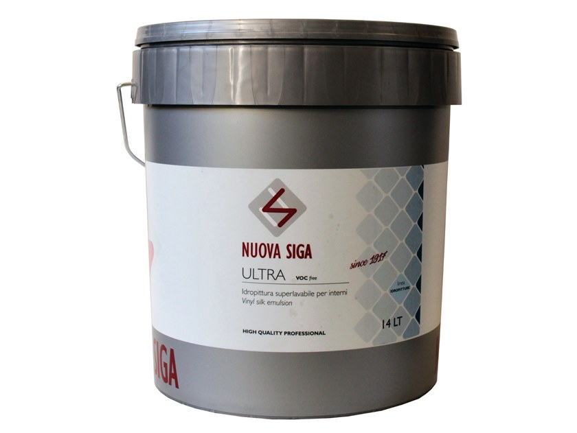 Washable water-based paint ULTRA by NUOVA SIGA