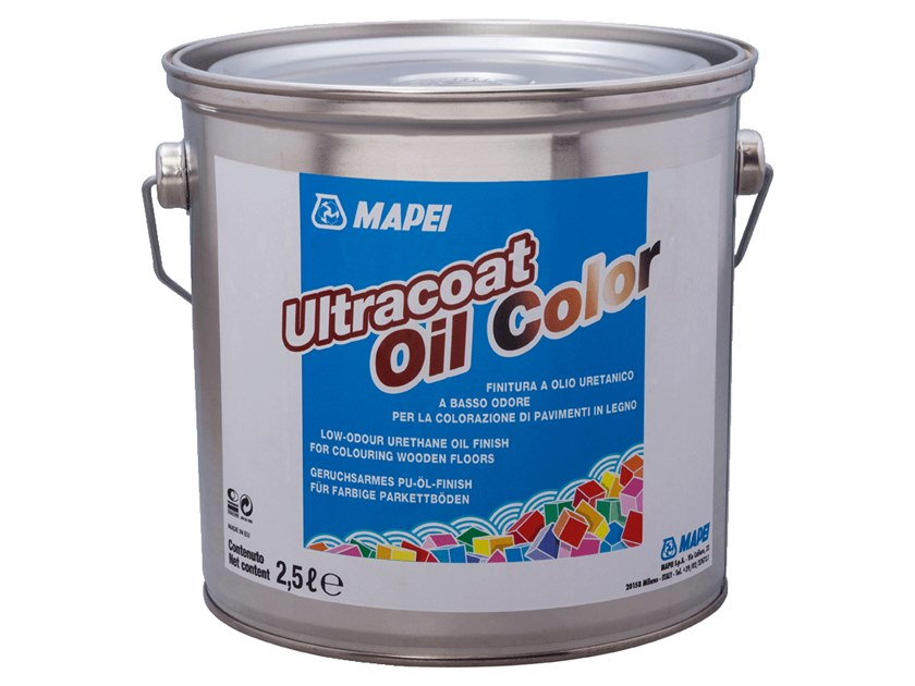 Wood protection product ULTRACOAT OIL COLOR by MAPEI