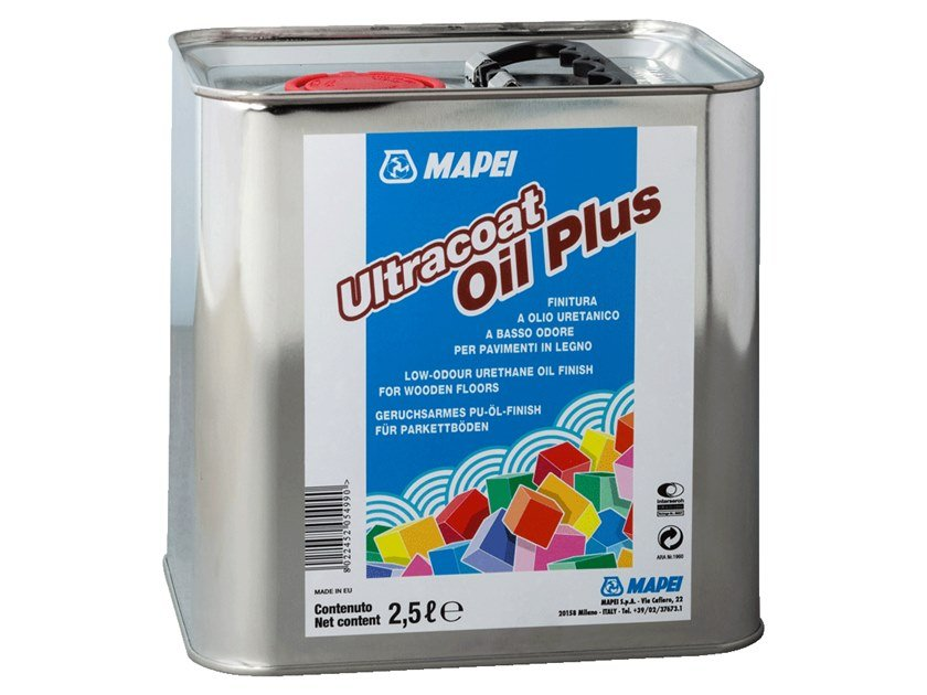Wood protection product ULTRACOAT OIL PLUS by MAPEI