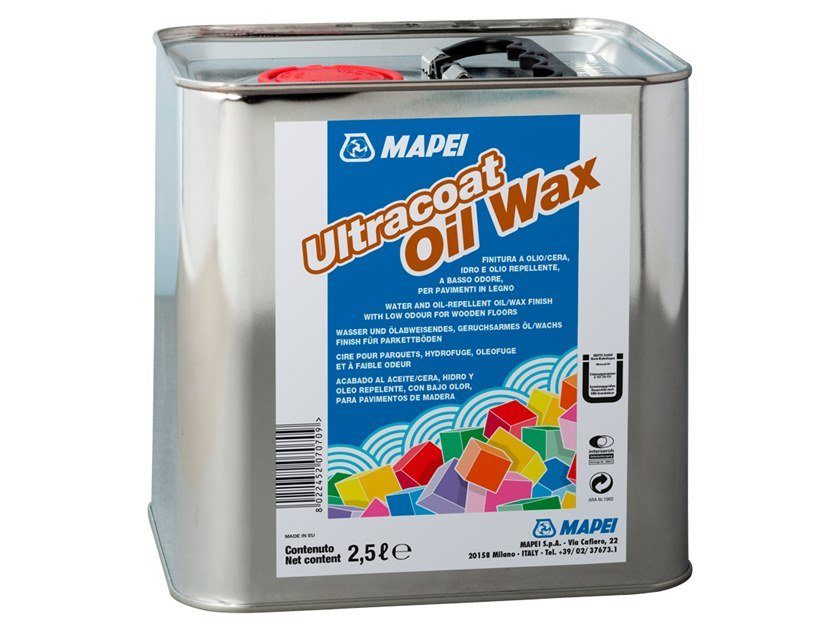 Wood protection product ULTRACOAT OIL WAX by MAPEI