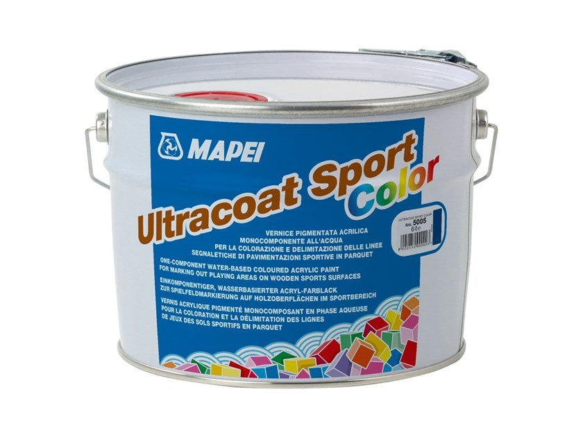 Protective varnish ULTRACOAT SPORT COLOR by MAPEI