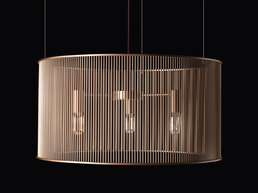 Brass pendant lamp ULYSSE | Pendant lamp by Elledue Arredamenti