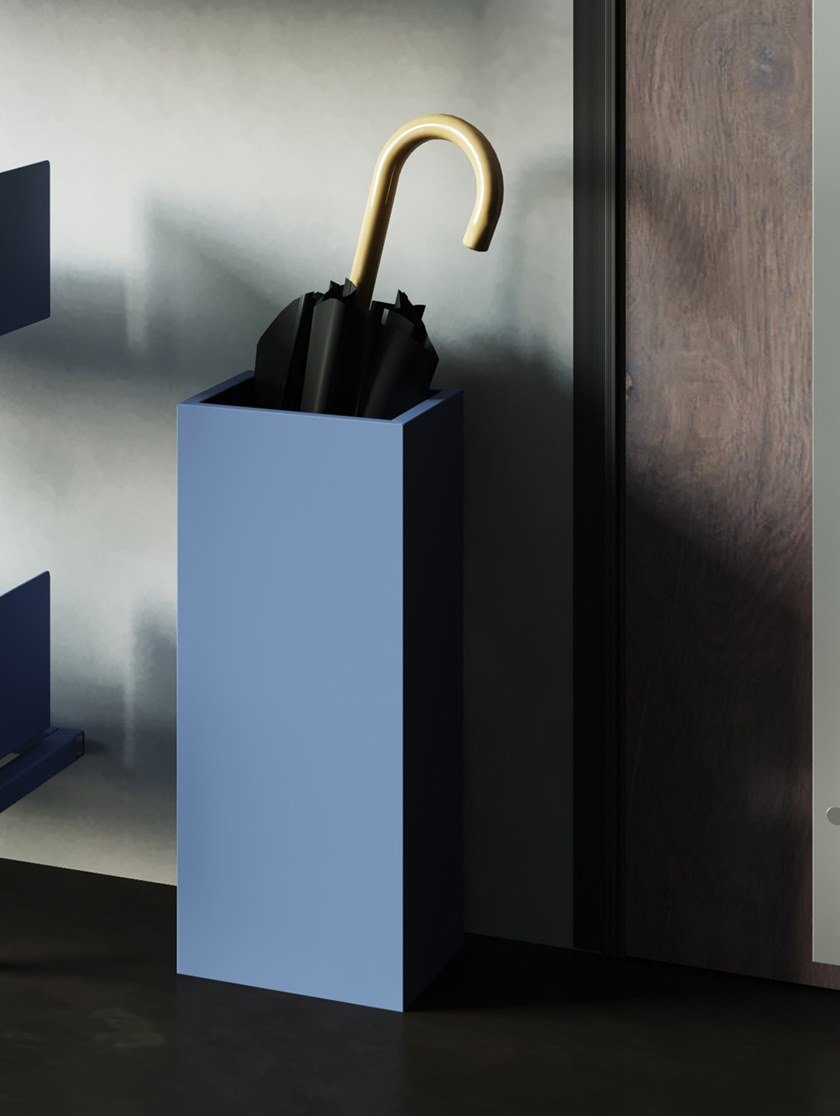 Floorstanding umbrella stand UMBRELLA by Steelbox by Metalway