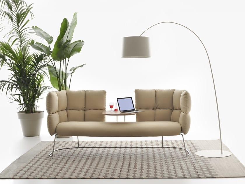Sofá de tecido UNDECIDED | Sofá by Manerba