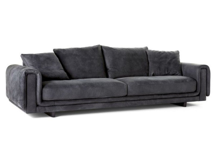 4 seater leather sofa UNDERLINE | 4 seater sofa by ROCHE BOBOIS