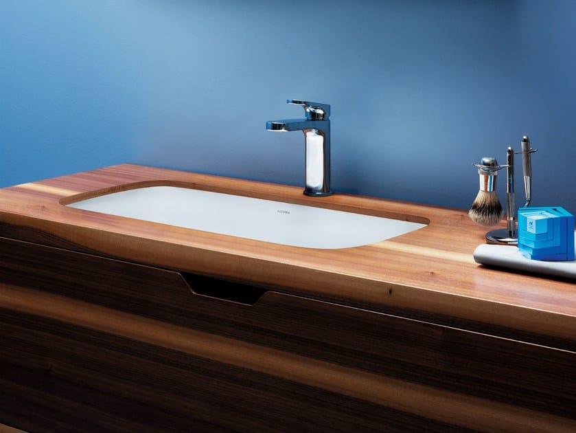Undermount ceramic washbasin GLAZE | Undermount washbasin by AZZURRA sanitari