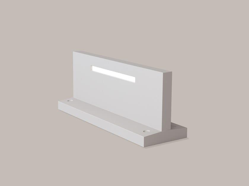 LED walkover light DurCoral® steplight UNDERSCORE by Buzzi & Buzzi