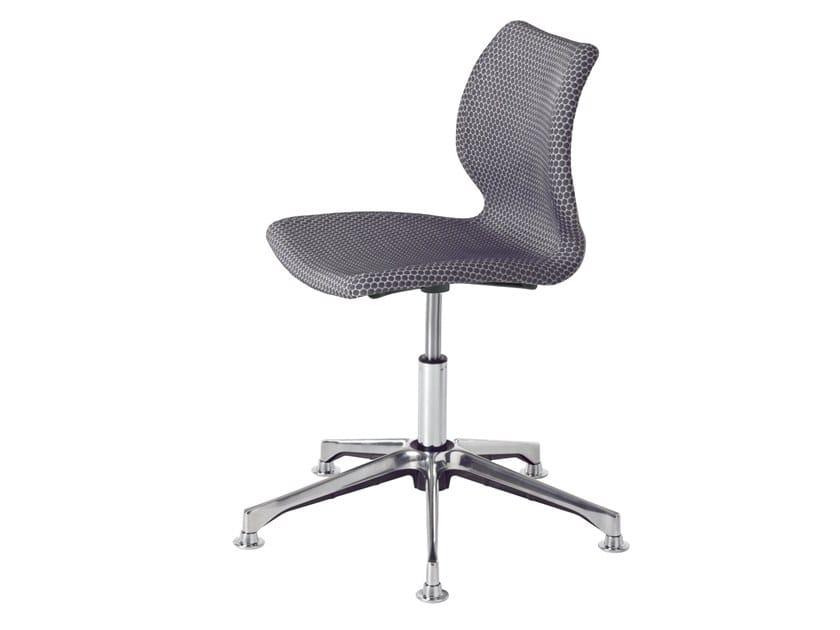 Swivel task chair with 5-Spoke base UNI 558M-DP by Metalmobil