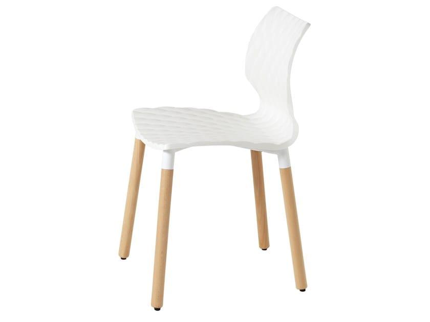 Polypropylene chair UNI 602 by Metalmobil