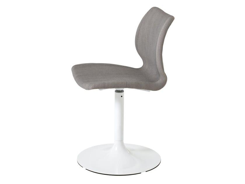 Swivel polypropylene chair UNI 603M by Metalmobil
