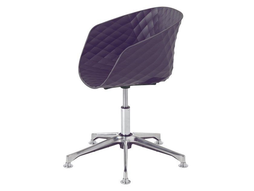 Task chair with 5-Spoke base with armrests UNI-KA 597DP by Metalmobil