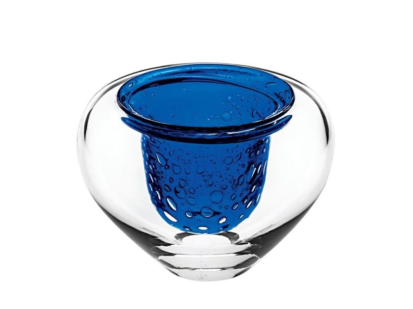 Crystal candle holder ÚNICA DIVE 1 by Vista Alegre