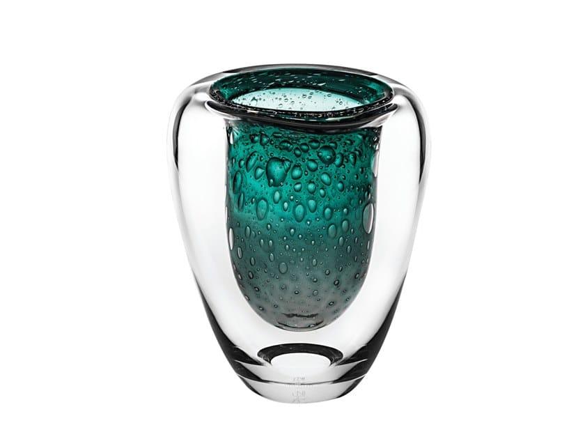 Crystal candle holder ÚNICA DIVE 3 by Vista Alegre