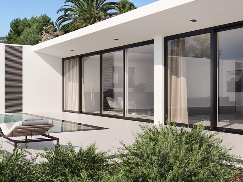 Aluminium and wood patio door UNICA | Patio door by BG legno
