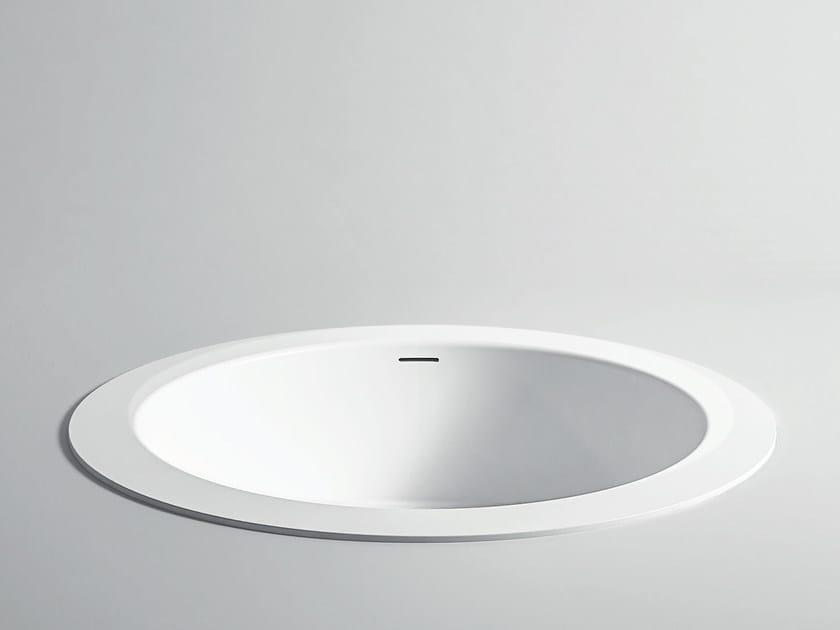 Unico rotonda maxi vasca da bagno da incasso collezione unico by rexa design - Vasca da bagno rotonda ...