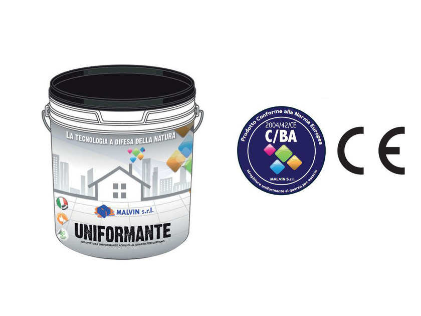 Breathable water-based paint UNIFORMANTE by malvin