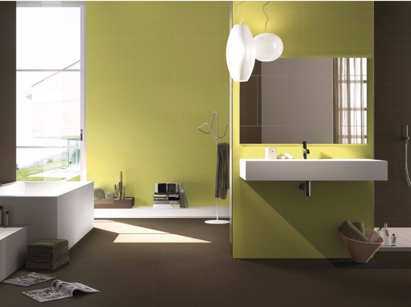 Porcelain stoneware wall/floor tiles UNILime by GranitiFiandre