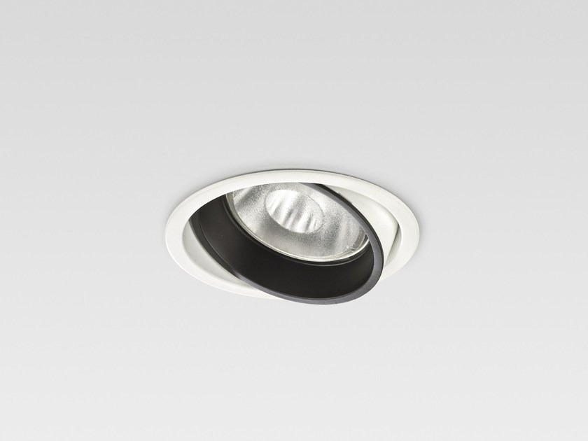 Led adjustable spotlight unimosa led by reggiani