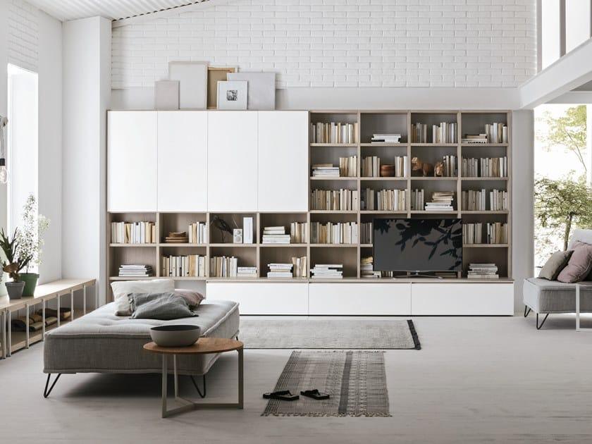 Libreria componibile UNIT A115 by Gruppo Tomasella
