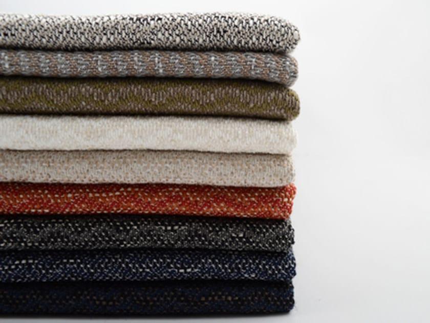 Solid-color jacquard fabric UNIT by l'Opificio