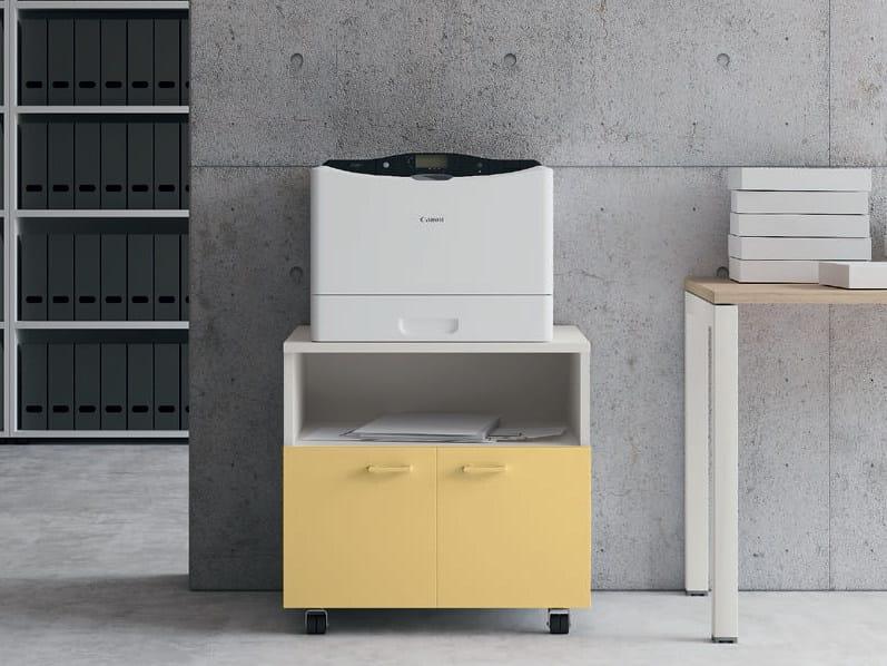 Libreria Ufficio Con Ante : Contenitori universali evo mobile ufficio con ruote collezione
