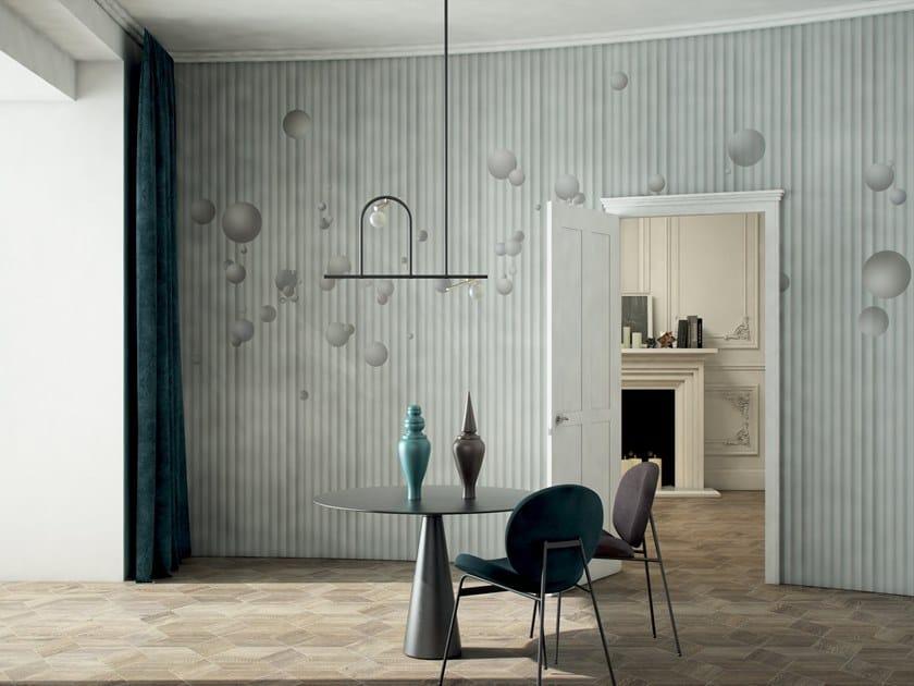 Striped wallpaper UNIVERSO by GLAMORA