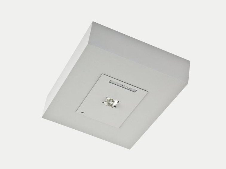 LED ceiling-mounted emergency light UNO by ES-SYSTEM
