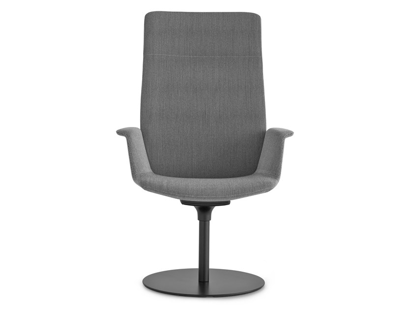 Recliner fabric executive chair with headrest UNO | Executive chair with headrest by Lapalma