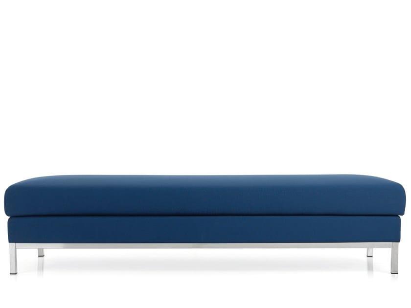 Upholstered bench DOMINO | Upholstered bench by Emmegi