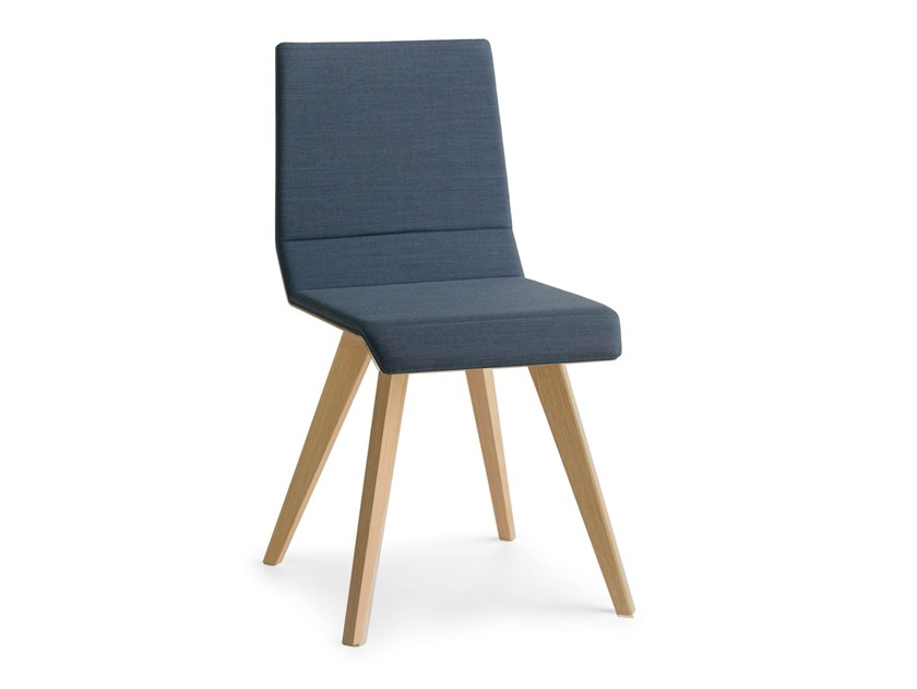 Upholstered chair METRIA | Upholstered chair by Passoni