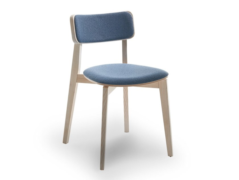 Upholstered stackable chair ARIANNA | Upholstered chair by Passoni